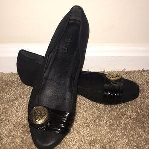 Gucci Black Flats Size 36.5